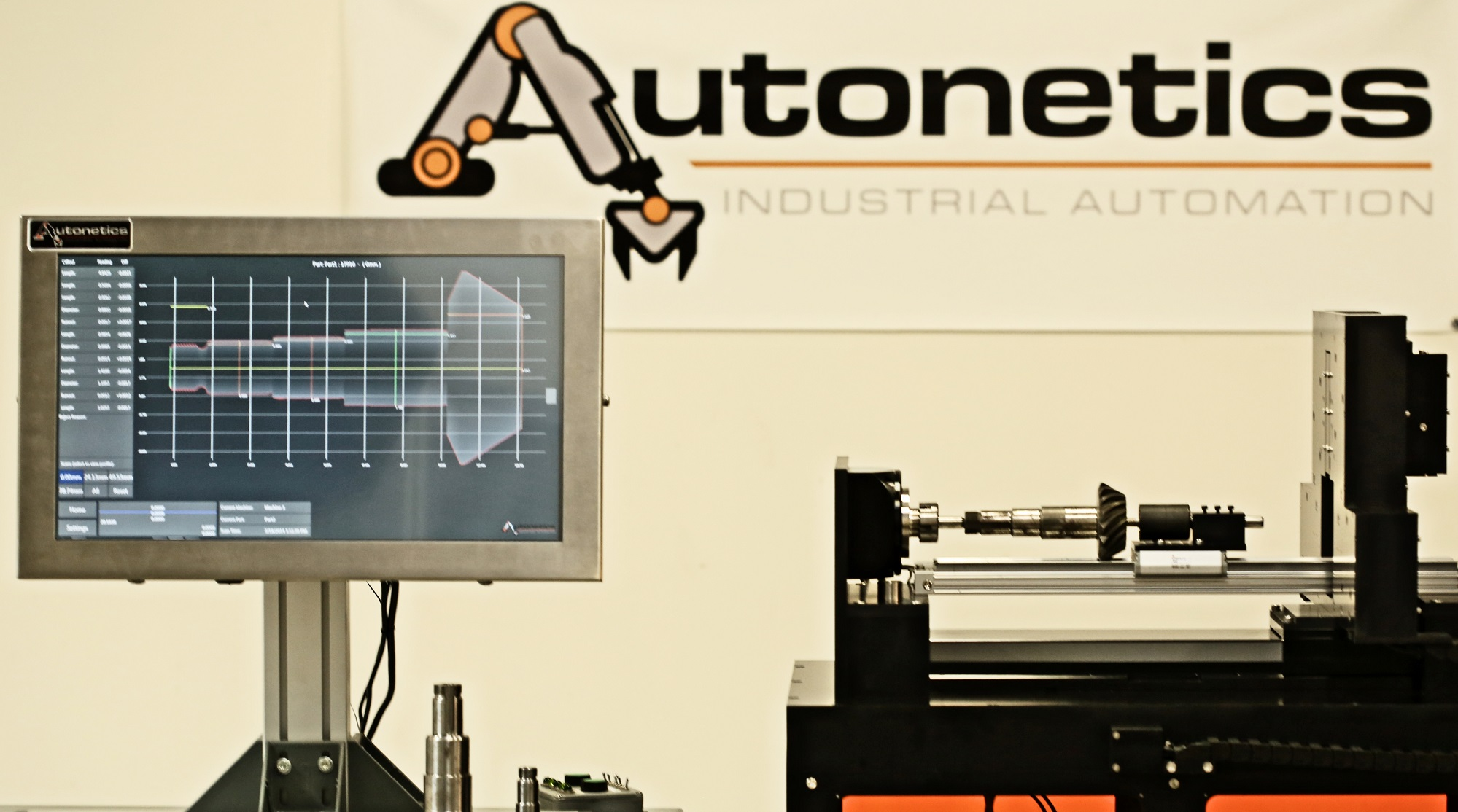Autonetics Logo and HMI