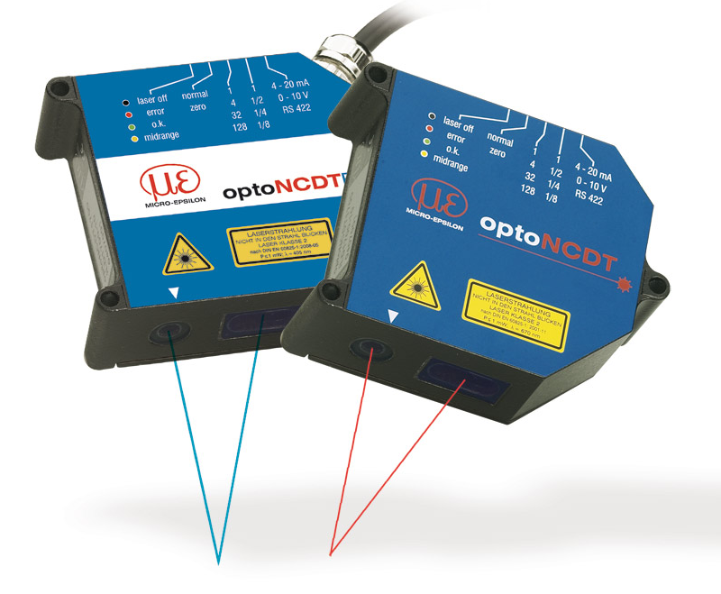 Micro Epsilon Laser Measuring Devices