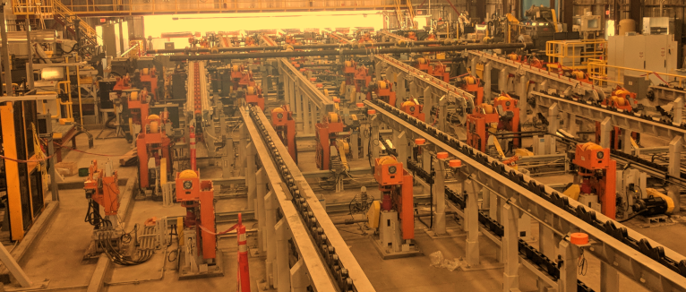 Autonetics AGU Featured at United States Steel Threading Facility