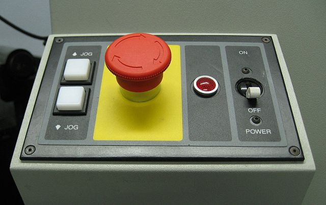 Emergency Stop Button for Industrial Safety